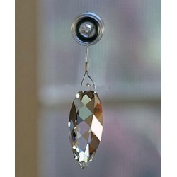 SWAROVSKI twist ORNAMENT window finestra ornamento