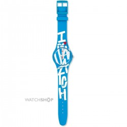 Orologio Swatch WHITE IN BLUE