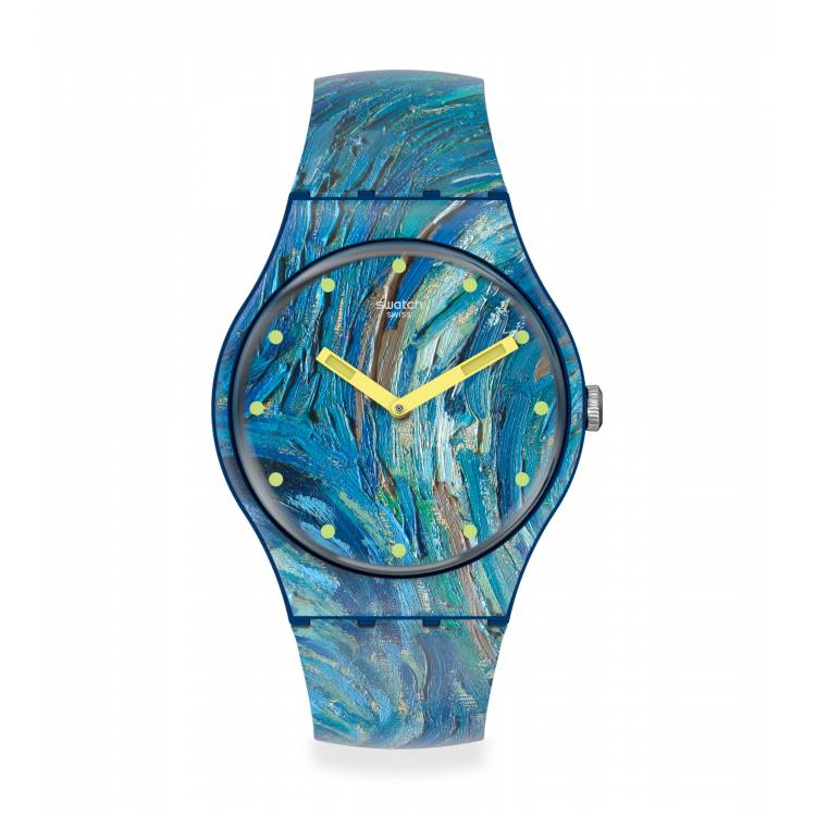 Orologio Swatch The Starry Night By Vincent Van Gogh The Watch