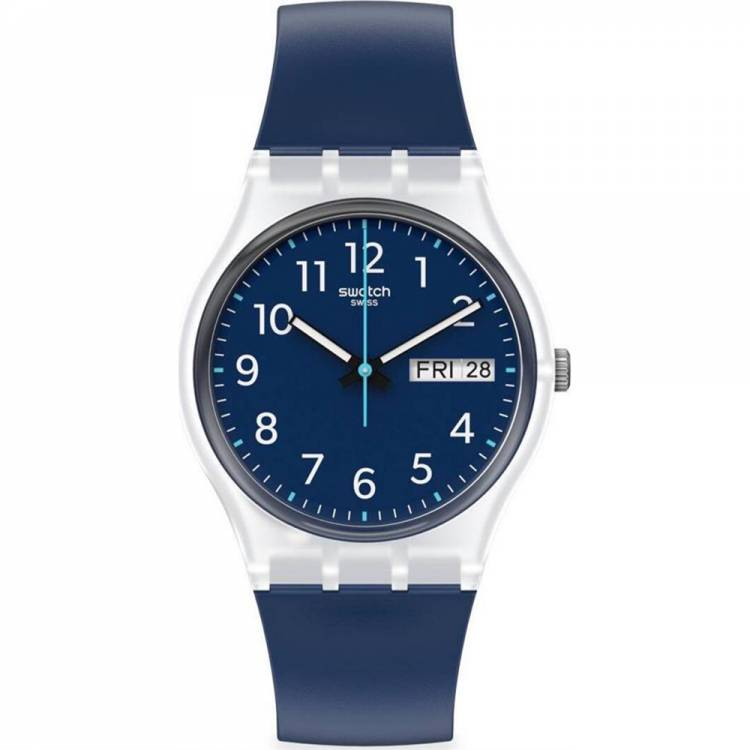 Orologio Swatch Rinse Repeat Navy